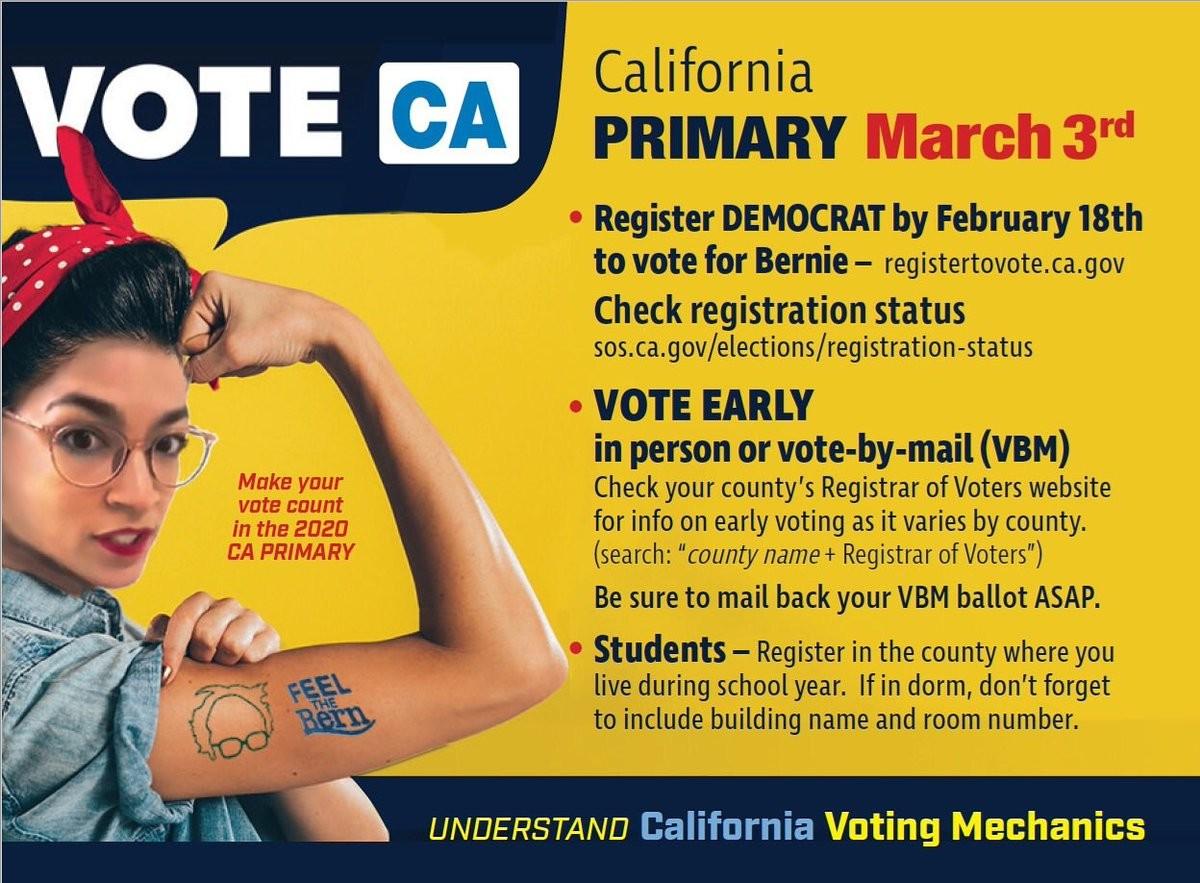 California Primary Notice