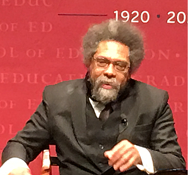 The close-ups, 2/3: Cornel West