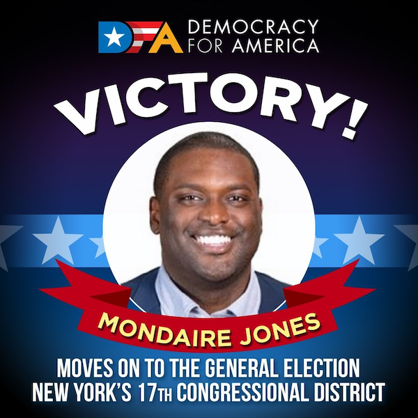 Mondaire Jones - Primary Victory June 23, 2020