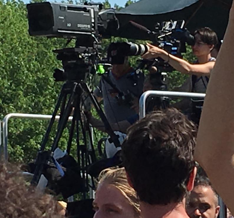 Cameras at QLM Rally